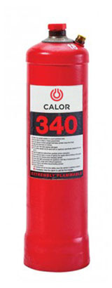 Calor Gas 340 Propane Gas Cylinder Refill 0.340kg